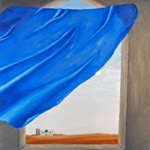Libertà_canto per Malalai Joya_Dale Zaccaria dipinto di Eugenio Alfano