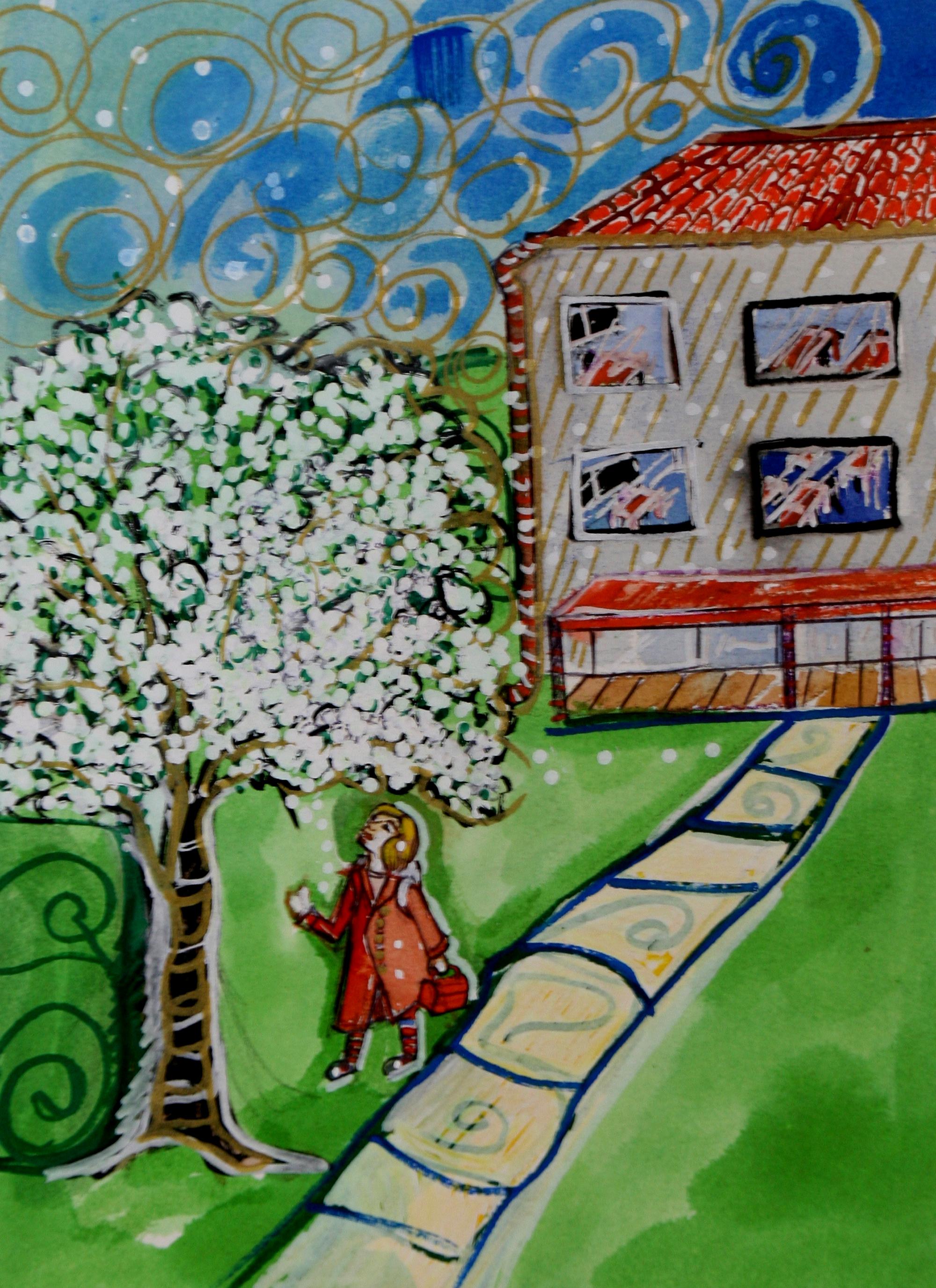 labambina e il ciliegio1