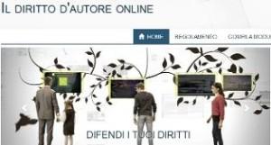 diritto d'autore online