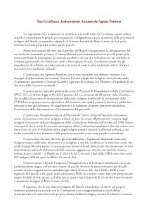 lettera guarani kaiowa