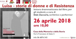 Evento Roma 26 APRILE 2018