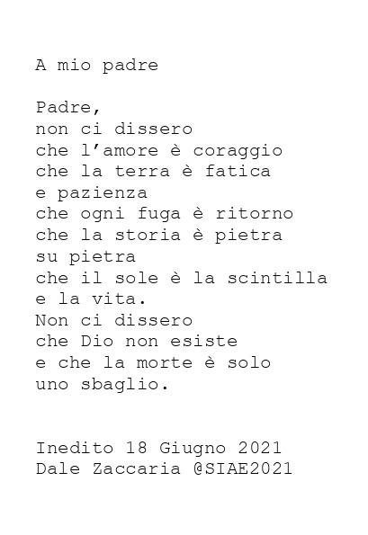 PADRE di Dale Zaccaria